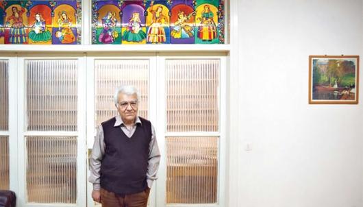 ناصر زرافشان در دفتر وکالت