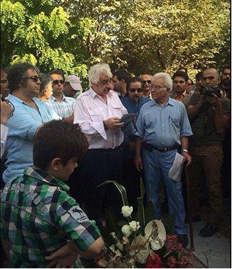 کانون نویسندگان ایران - مراسم زنده یاد احمد شاملو (2)