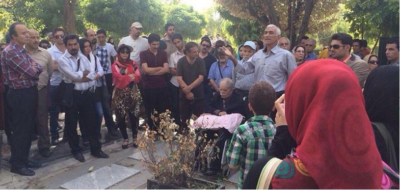 کانون نویسندگان ایران - مراسم زنده یاد احمد شاملو (4)