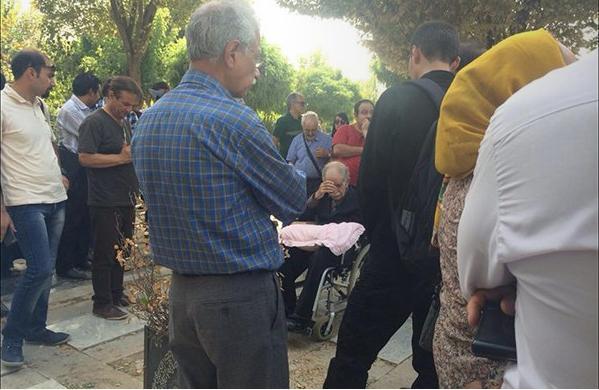 کانون نویسندگان ایران - مراسم زنده یاد احمد شاملو (5)