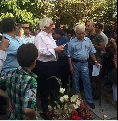 کانون نویسندگان ایران - مراسم زنده یاد احمد شاملو (6)