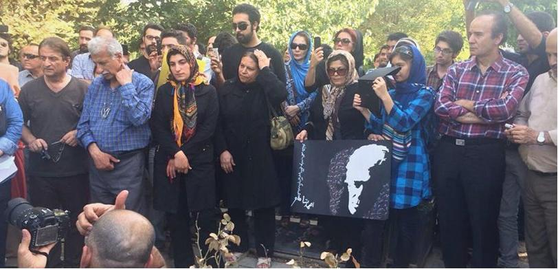 کانون نویسندگان ایران - مراسم زنده یاد احمد شاملو (7)