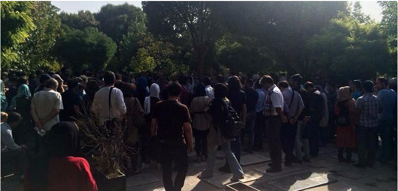 کانون نویسندگان ایران - مراسم زنده یاد احمد شاملو (8)