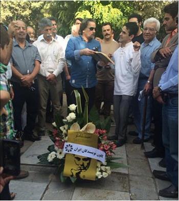 کانون نویسندگان ایران - مراسم زنده یاد احمد شاملو (9)