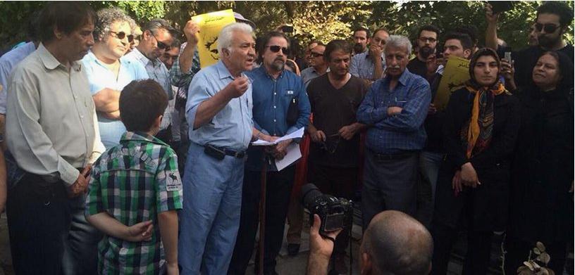 کانون نویسندگان ایران - مراسم زنده یاد احمد شاملو
